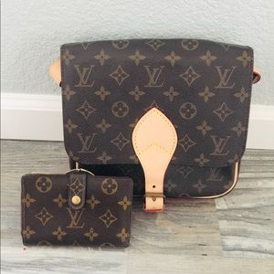 Louis Vuitton Accessories - 🌸set of Auth Louis Vuitton and matching wallet🌸